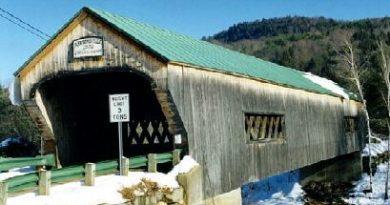 Bartonsville Covered Bridge, Rockingham, Vermont