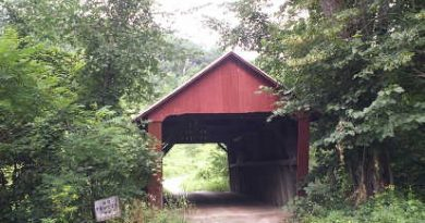 Braley Randolph Covered Bridge, Randolph, Vermont