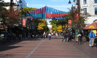 Burlington, Vermont, New England USA