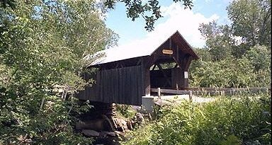 Emily's Covered Bridge, Stowe, Vermont