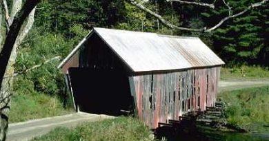 Gifford Randolph Covered Bridge, Randolph, Vermont