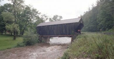 Giorgetti Covered Bridge, Pittsfield, Vermont
