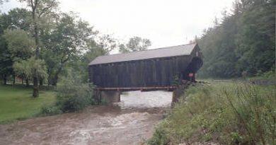 Giorgetti Covered Bridge, Pittsfield, Vermont