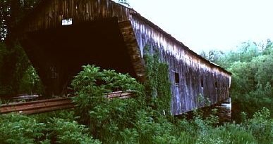 Hammond Covered Bridge, Pittsford, Vermont