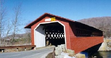 Henry Covered Bridge, Bennington, Vermont