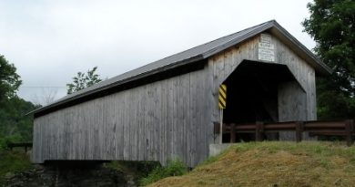 Hopkins Covered Bridge, Enosburgh, Vermont