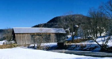 Howe Covered Bridge, Tunbridge, Vermont