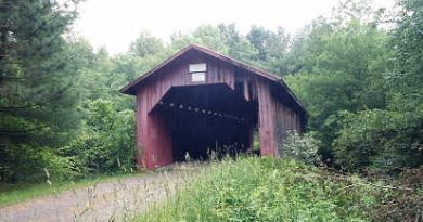 Hutchins Covered Bridge, Montgomery, Vermont