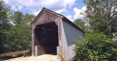 Kidder Hill Covered Bridge, Grafton, Vermont