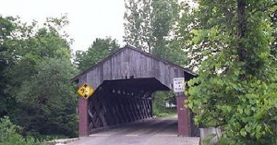 Lower Fairfax Covered Bridge, Fairfax, Vermont