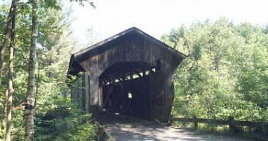 Morgan Covered Bridge, Belvidere, Vermont