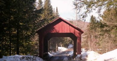 Moseley Covered Bridge, Northfield, Vermont