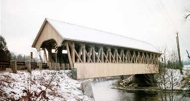 Orne Covered Bridge, Irasburg, Vermont