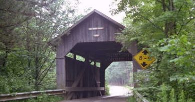 Pine Brook Covered Bridge, Waitsfield, Vermont