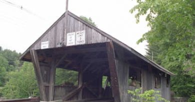 Power House Covered Bridge, Johnson, Vermont