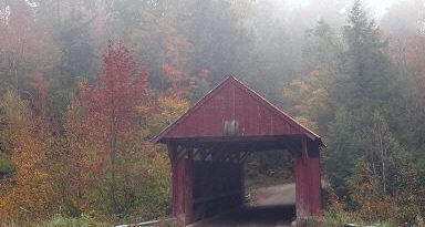 Red Covered Bridge, Morristown, Vermont