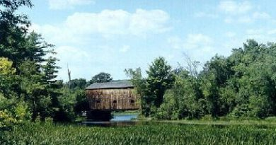 Rutland Railroad Covered Bridge, Shoreham, Vermont