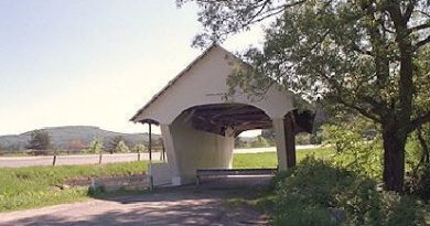 Schoolhouse Covered Bridge, Lyndon, Vermont