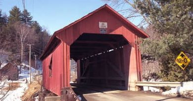 SecondNorthfield Covered Bridge, Northfield, Vermont