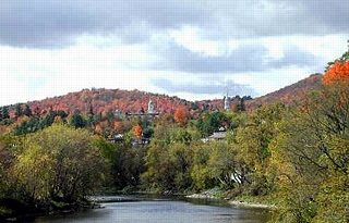 St. Johnsbury, Vermont, New England USA