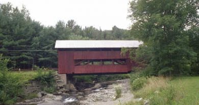 Third Northfield Covered Bridge, Northfield, Vermont