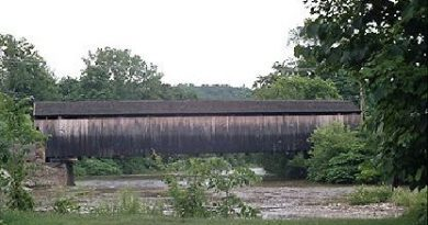 Village Waitsfield Covered Bridge, Waitsfield, Vermont