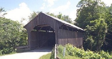 Village Covered Bridge, Waterville, Vermont