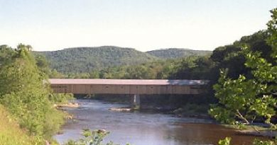 West Dummerston Covered Bridge, Dummerston, Vermont