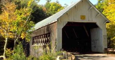Williamsville Covered Bridge, Newfane, Vermont