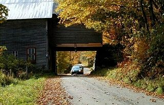 Woodbury, Vermont, New England USA