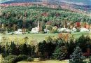 Worcester, Vermont, New England USA
