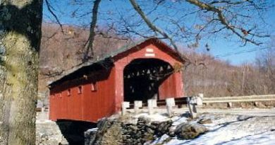 West Arlington Covered Bridge, Arlington, Vermont