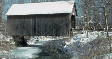 Bowers West Windsor Covered Bridge, West Windsor, Vermont