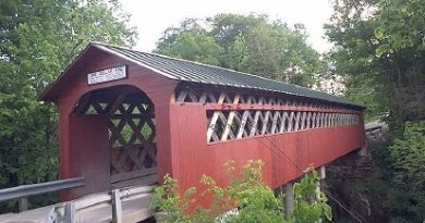Chiselville Covered Bridge, Sunderland, Vermont