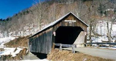 Cilley Covered Bridge, Tunbridge, Vermont