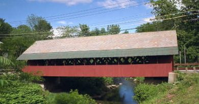 Creamery Covered Bridge, Brattleboro, Vermont