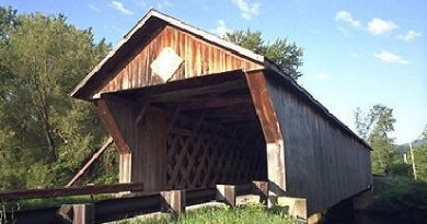 Depot Covered Bridge, Pittsford, Vermont