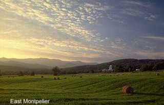 East Montpelier, Vermont, New England USA