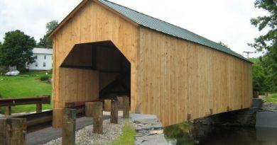 East Fairfield Covered Bridge, Fairfield, Vermont