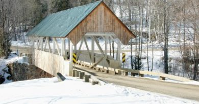 Greenbanks Hollow Covered Bridge, Danville, Vermont