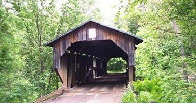 Scott Cambridge Covered Bridge, Cambridge, Vermont