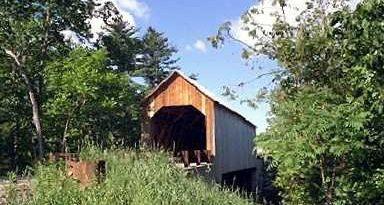 Halpin Covered Bridge, Shoreham, Vermont