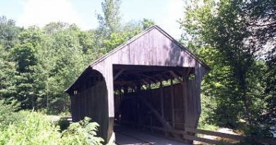 Jaynes Covered Bridge, Waterville, Vermont