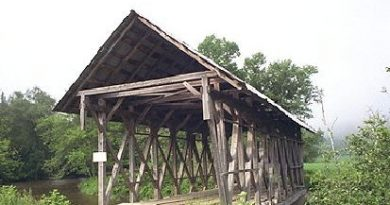 Lord's Creek Covered Bridge, Irasburg, Vermont