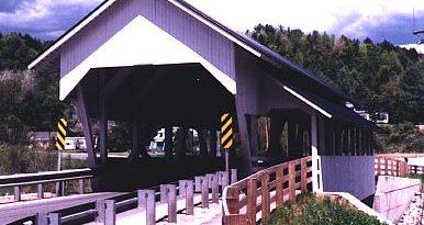 Miller's Run Covered Bridge, Lyndon, Vermont
