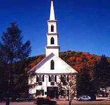 Newfane, Vermont, New England USA