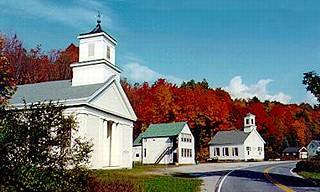 Ripton, Vermont, New England USA