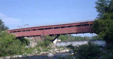 Taftsville Woodstock Covered Bridge, Woodstock, Vermont