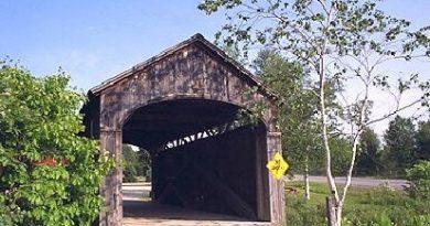 Victorian Village Covered Bridge, Rockingham, Vermont